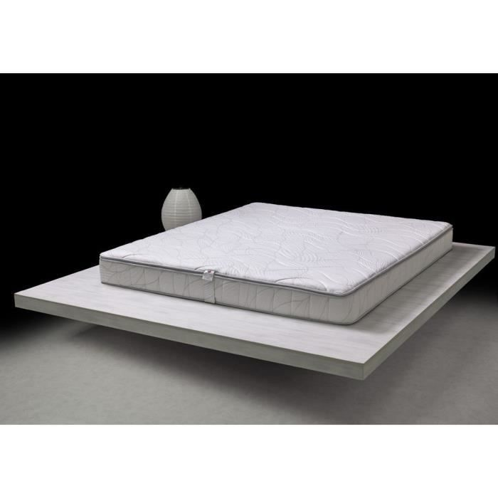 matelas m moire de forme 80x200 cm en 100 latex achat. Black Bedroom Furniture Sets. Home Design Ideas