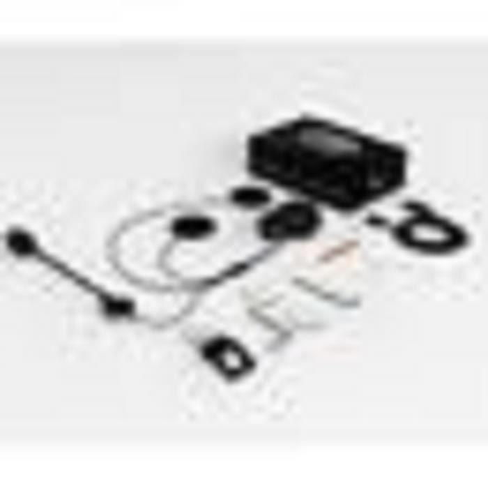 KIT BLUETOOTH TÉLÉPHONE 2 Pcs Intercom Moto Bluetooth, QTBE6 Kit Oreillett