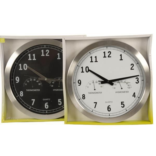 horloge murale grand format dia 40cm achat vente horloge cdiscount. Black Bedroom Furniture Sets. Home Design Ideas