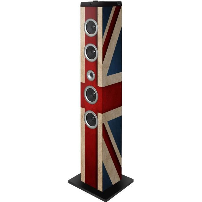 tour multimedia motif drapeau uk bluetooth port us station d 39 accueil avis et prix pas cher. Black Bedroom Furniture Sets. Home Design Ideas