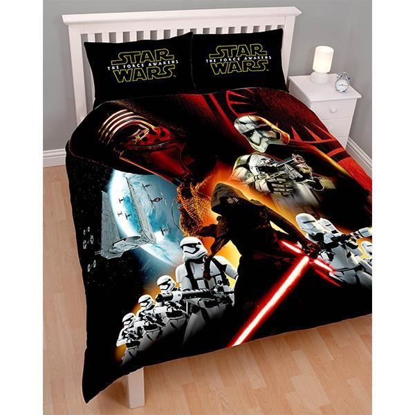 Housse de couette 200×200 star wars - Table de lit
