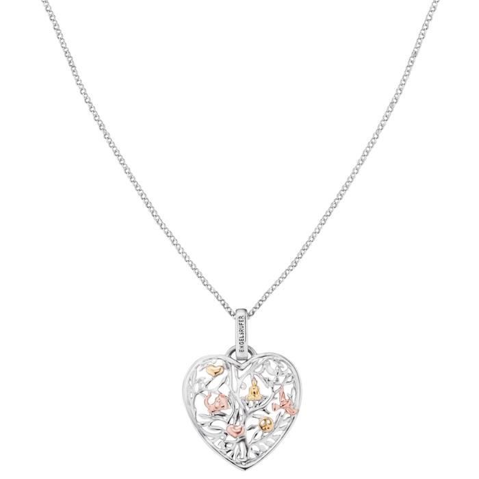Engelsrufer - Engelsrufer ERN-HEARTTREE-TRICO Collier pour Femme Tricolore 50 cm Réf 56809