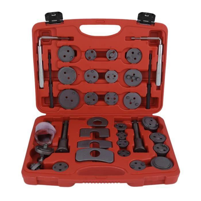 Coffret Repousse piston d/étriers de freins pour remplacement de disque Outil et adaptateurs de m/âchoire ou de plaquettes de frein Set de 21 pi/èces Outils pour /étrier de freins