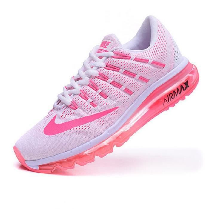 Air Rose Max 2016 Chaussures Femmes Baskets Tu Running Nike Blanc De BAw1q1