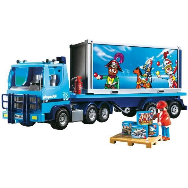 camion playmobil 4447 achat vente voiture camion cdiscount. Black Bedroom Furniture Sets. Home Design Ideas