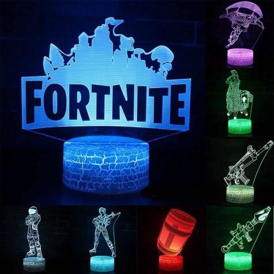DEL 3D NFL Dallas Cowboys Lampe Casque USB 7 Changement De Couleur Lumière Nuit Decor Cadeau