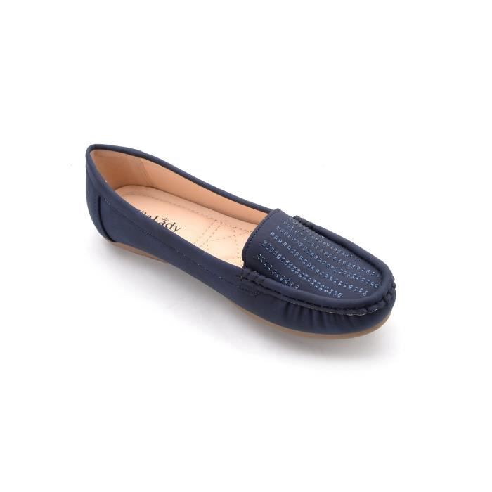 Mlia Lady (zenobia) Loafer Slip On Moccasins Driving Shoes HN7BQ Taille-39 1-2