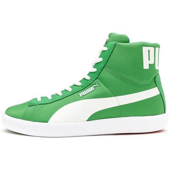 Baskets Puma Archive Lite Mid Nylon Retro Chaussures en Vert Blanc 357406 03 [UK 7.5 EU 41]