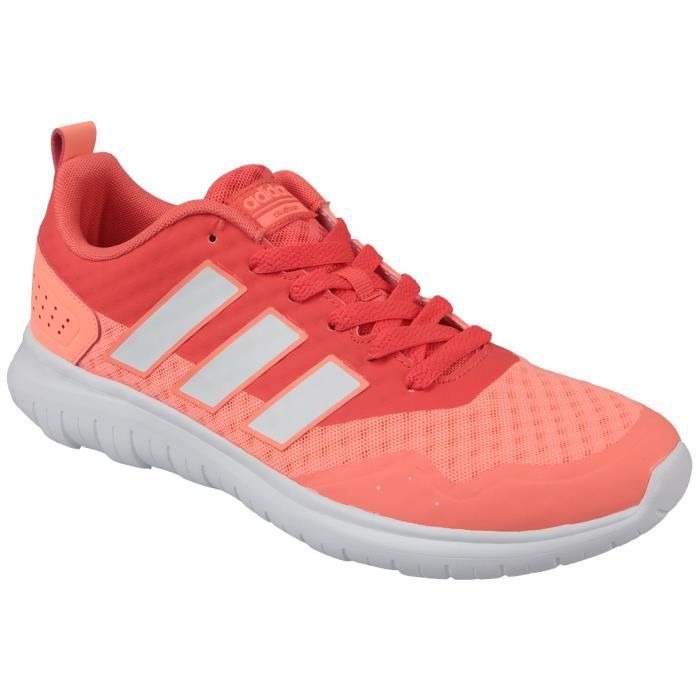Adidas Cloudfoam Lite Flex W Aw4202 Femme Baskets Rose