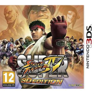 JEU 3DS SUPER STREET FIGHTER IV / Jeu console 3DS