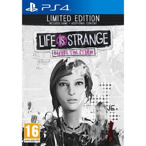 JEU PS4 Life is Strange Before the Storm Edition Limitée J
