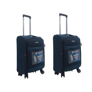 SET DE VALISES Lot de 2 valises cabine Airtex en tissu ultra-légè