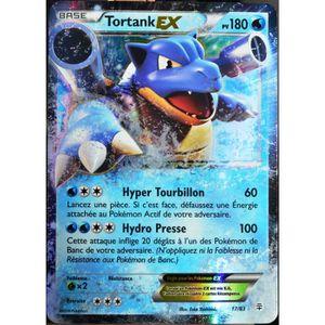 CARTE A COLLECTIONNER carte Pokémon 17-83 Tortank-EX 180 PV - ULTRA RARE