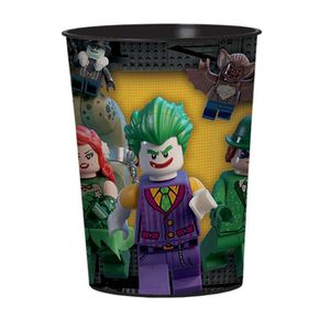 VERRE JETABLE Gobelet plastique Lego Batman 473 ml
