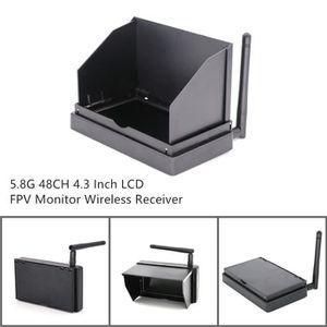 DRONE 5.8G 48CH 4.3 pouces LCD FPV moniteur sans fil réc