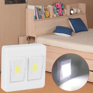ECLAIRAGE DE MEUBLE 3W COB LED mur Commutateur d'éclairage de la batte