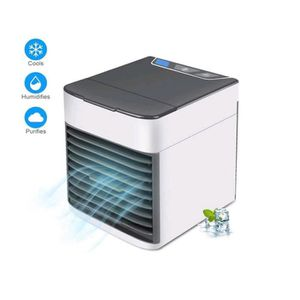 CLIMATISEUR MOBILE 3 en 1 Mini Refroidisseur D'air Portable USB Venti