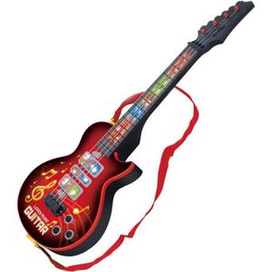 INSTRUMENT DE MUSIQUE 4 cordes Guitare électrique Jouet éducatif d'instr