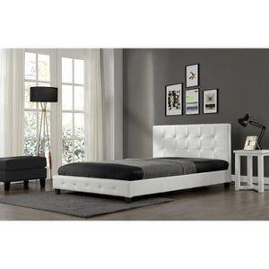 SOMMIER Magnifique Lit Palace 140x190cm - Cadre de lit en
