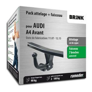 ATTELAGE Attelage pour Audi A4 Avant - 04/08-03/12 - col de