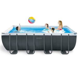 PISCINE INTEX Kit Piscine tubulaire rectangulaire 5,49 x 2