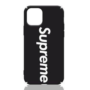 COQUE - BUMPER Coque iPhone 11 PRO MAX,Supreme Noir Coque Compati