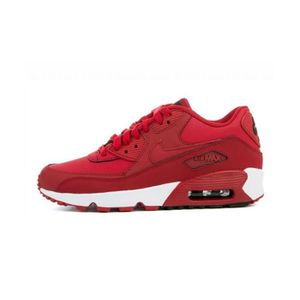 BASKET MULTISPORT Basket Nike Air Max 90 Leather Junior - 833412-600