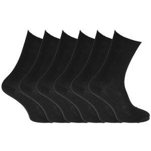 gris /& rouge MERCERS Lot de 6 paires de mi-chaussettes enfant Chaussettes enfant en coton Disponibles en 3 tailles Confortables et douces Marine