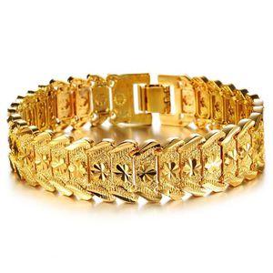 BRACELET - GOURMETTE RMEGA Bracelet Homme de Luxe - Titane Acier Inoxyd
