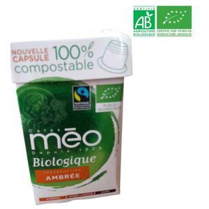 CAFÉ MAX HAVELAAR Café Ambré Bio - 10 capsules - 53g