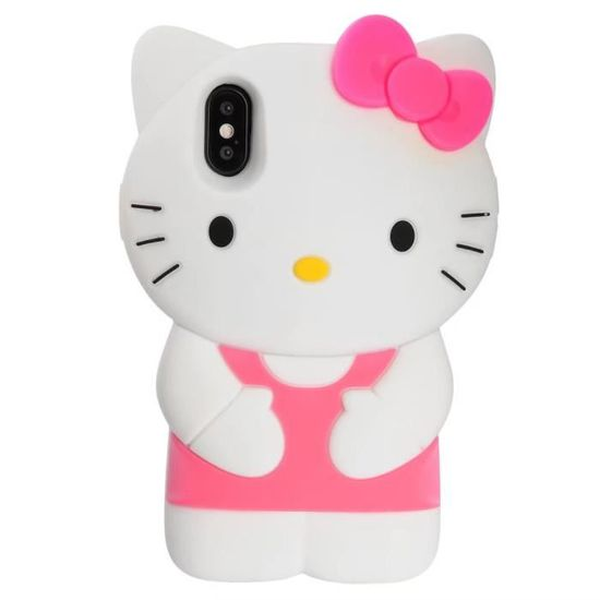 coque iphone 6s chat arc rose hello kitty adorable