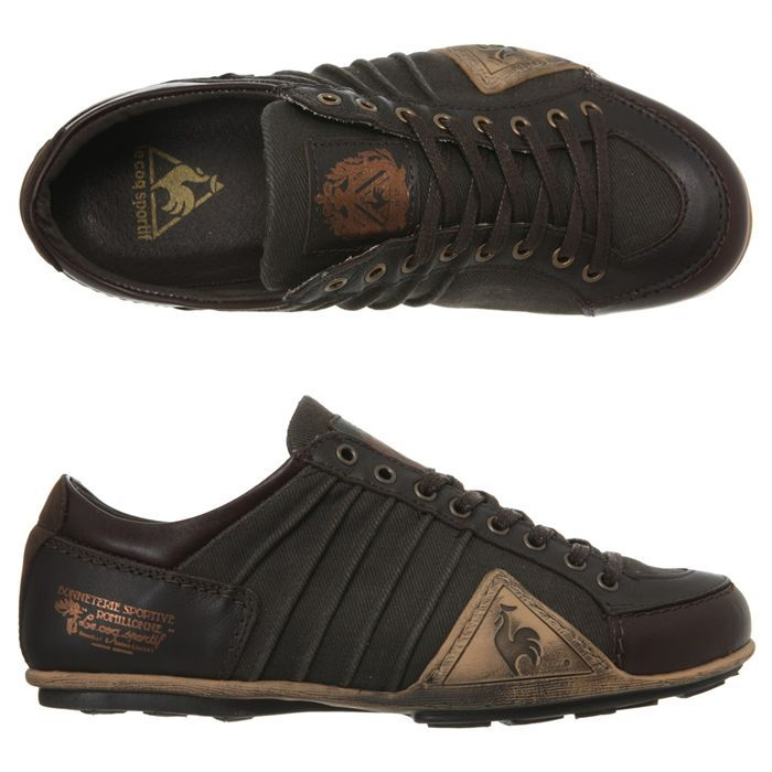 chaussures le coq sportif buffalo leather color pdg
