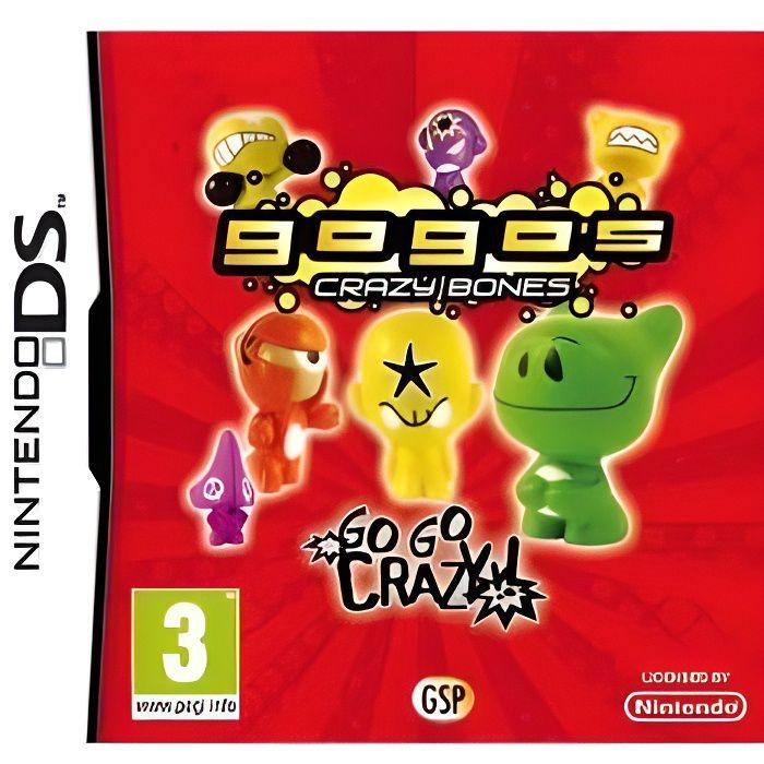 GOGO'S CRAZY BONES / Jeu console DS