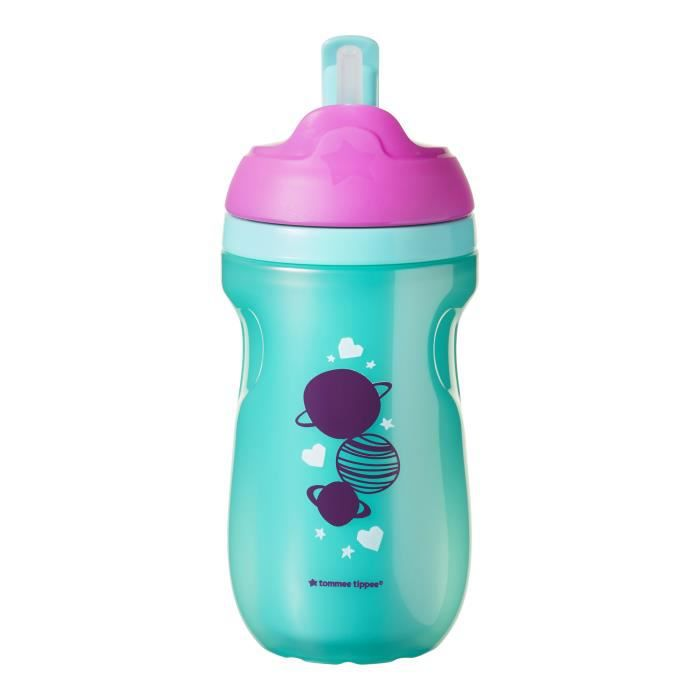 12 mois Tommee Tippee Tasse Isotherme /à Bec pour Fille Violet