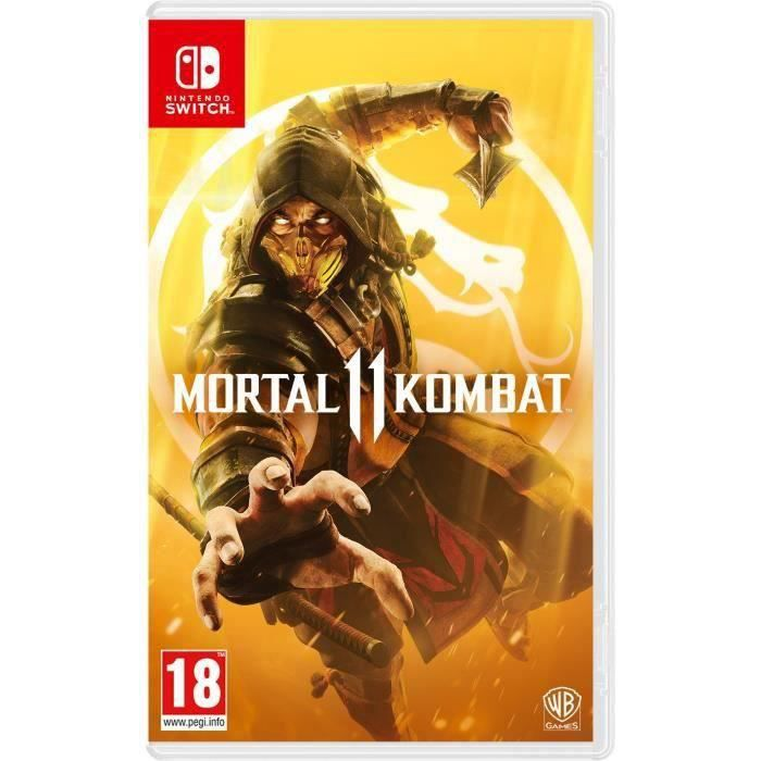 Mortal Kombat 11 Jeu Switch