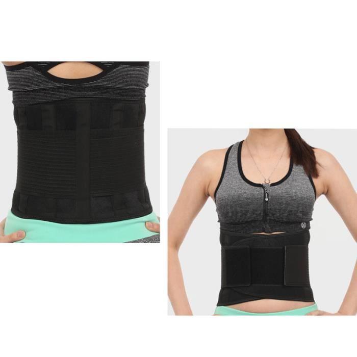 DoringIN-Ceinture de Force,Ceinture corset,130*23cm Noir-Ceinture lombaire, soutien dorsal inférieur Ceinture-Pour Fitness Sports