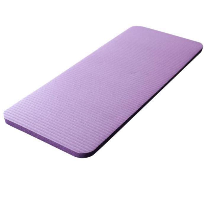 Tapis De Genou De Yoga 15Mm Tapis De Yoga Grand Épais Pilates Exercice Fitness Tapis D'Entraînement Pilates Non Slip Camping Mats