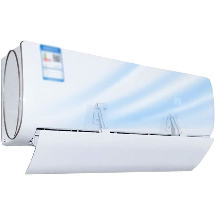 Climatiseurs portables PTY D&eacuteflecteur de Climatiseur Climatisation Wind D&eacuteflecteur Bloc Air Froid Couvercle de clim143