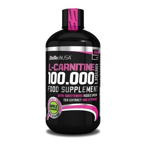 L-Carnitine 100.000 Liquid (500ml) Biotech USA - Pomme
