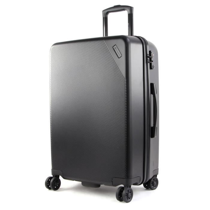 bugatti Kallisto Hard-Top Case Trolley M Black [128518] - valise valise ou bagage vendu seul