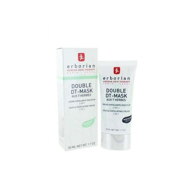 ERBORIAN DOUBLE DT MASK 7 HERBES 50 ml masque visage