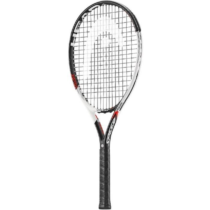HEAD Raquette de Tennis sans Cordage Graphene XT PWR Speed – Blanc-Noir (909) L2