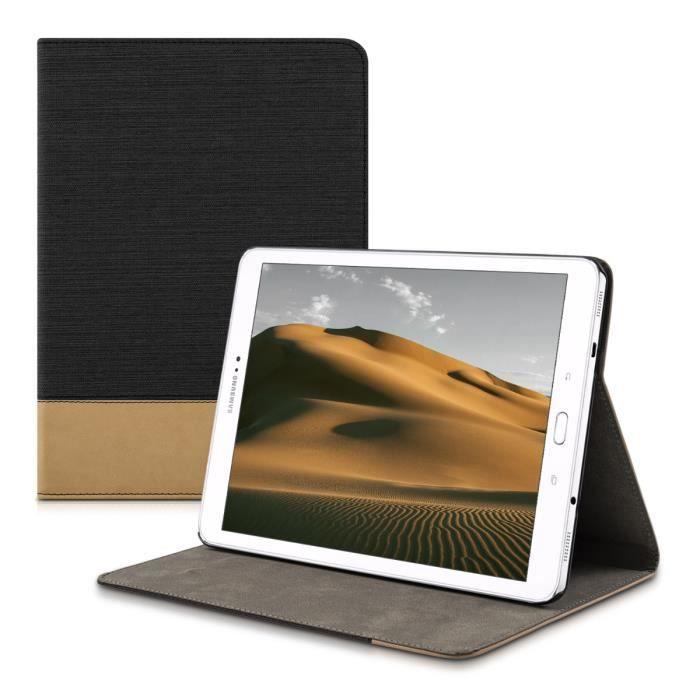 kwmobile Étui Samsung Galaxy Tab S2 9.7 Étui à rabat protection slim pour tablette Samsung Galaxy Tab S2 9.7 avec fonction support