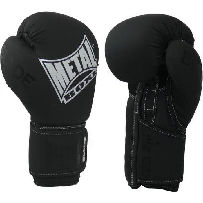 -Gants de boxe Métal boxe Blade Classic-14 oz-Noire et Blanc-14 oz--14 oz-Noire et Blanc--------------Noire et Blanc-14 oz