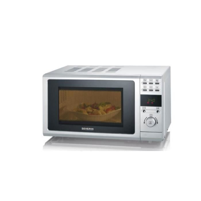 Severin MW 9284, Comptoir, Micro-ondes grill, 20 L, 700 W, boutons, Rotatif, Argent