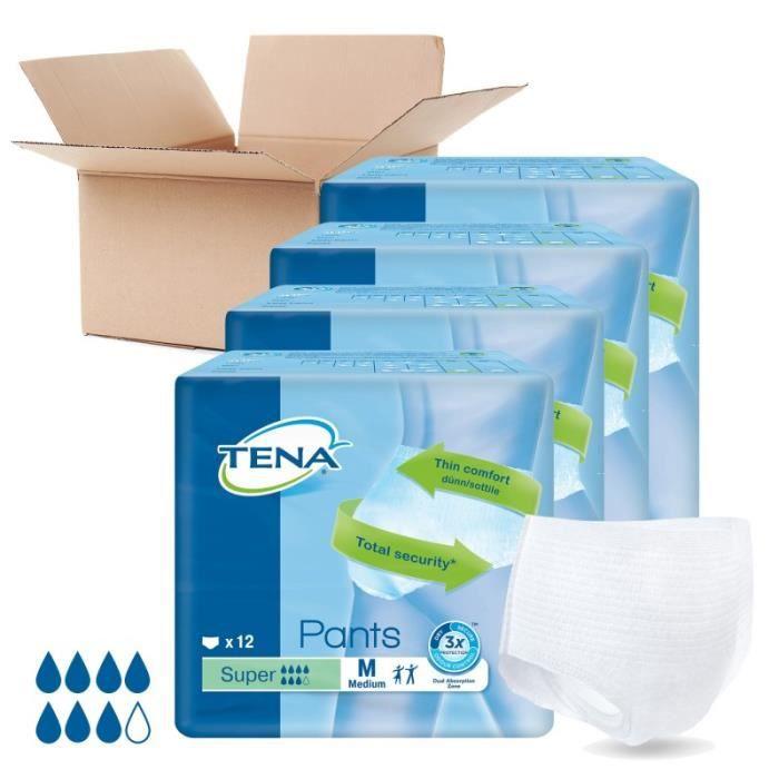 Lot de 4 paquets TENA - Pants Super Medium (x48)