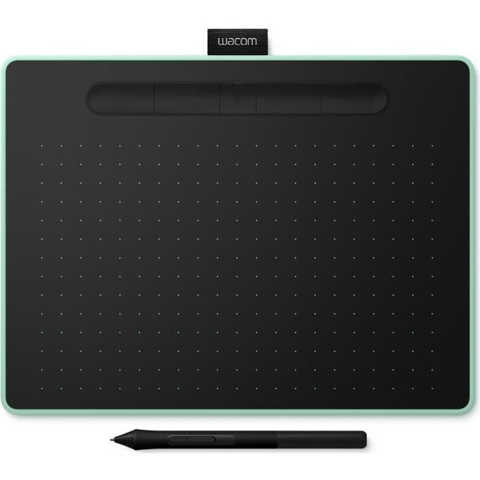 WACOM Tablette Graphique Intuos M Bluetooth - Pistachio