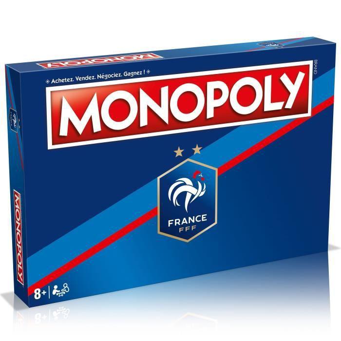MONOPOLY FFF - Fédération Française de Football - Jeu de société