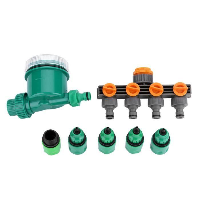 """Connecteur Irrigation Barbelé 4mm//7mm pour 4//7mm Noir Double Voies Drip 1//4 /"""""""