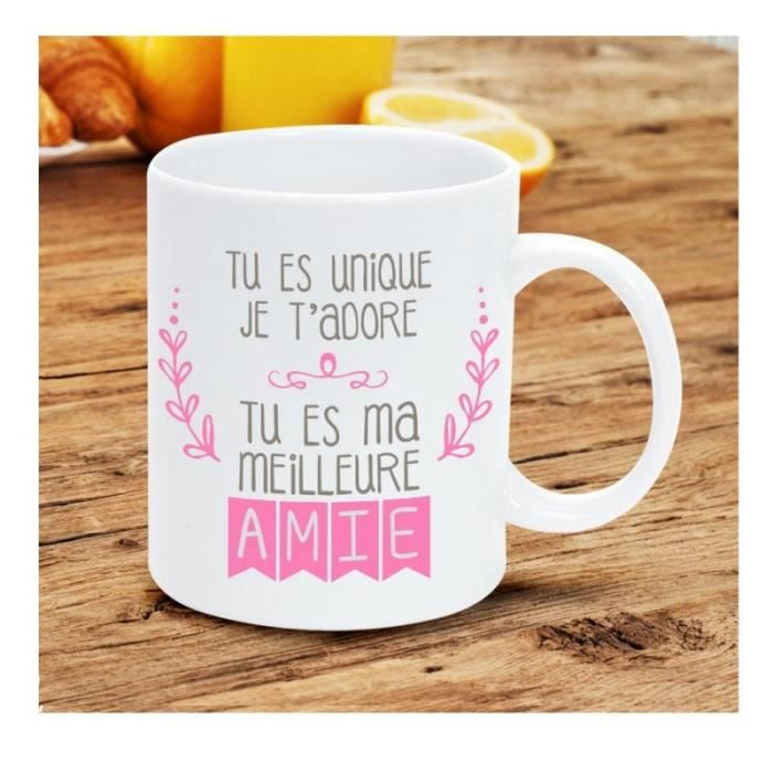 mug citation tu es ma meilleure amie achat vente bol mug mazagran black friday le 22. Black Bedroom Furniture Sets. Home Design Ideas